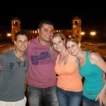 Diogo, Henrique, Fernanda, Jo - Parque tanguá